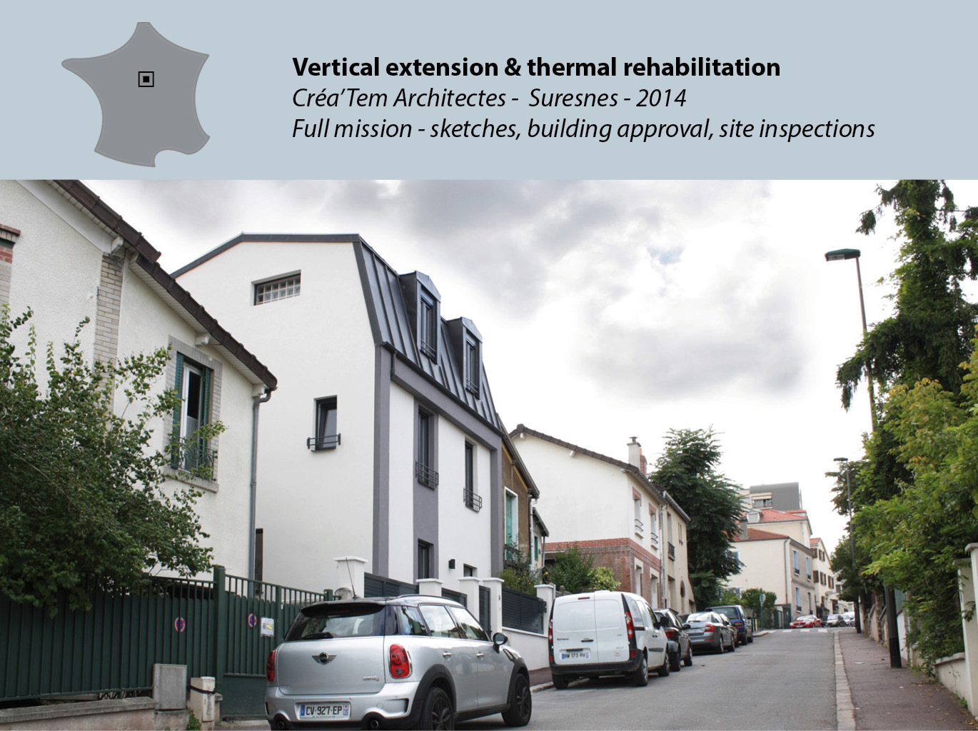 Vertical extension